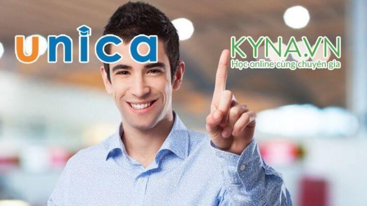 So sánh khóa học online tại Unica và Kyna.vn