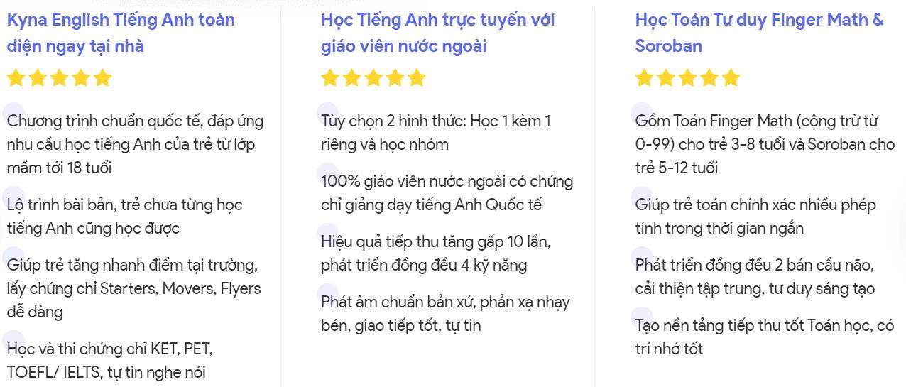 Review và Giới Thiệu Khóa Học KYNA FOR KIDS – Kynaforkid.vn