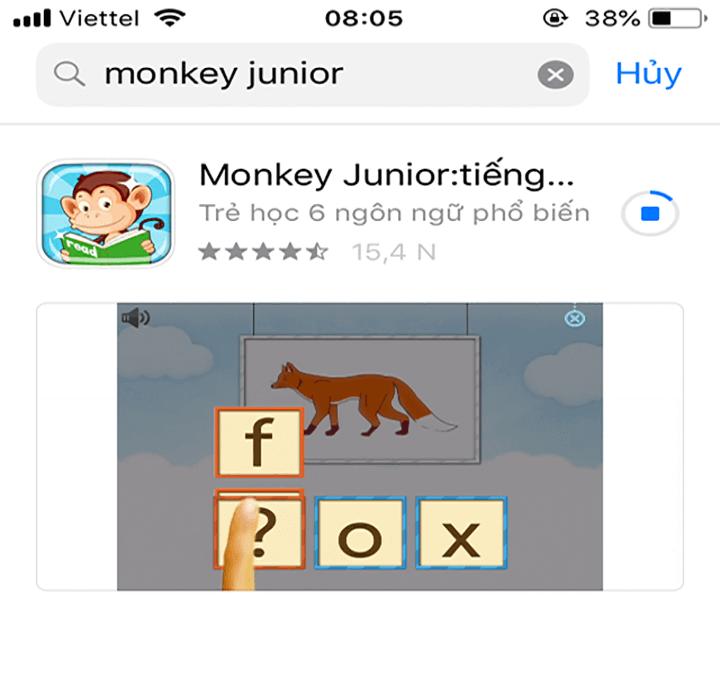Cách tải và cài đặt Monkey Junior