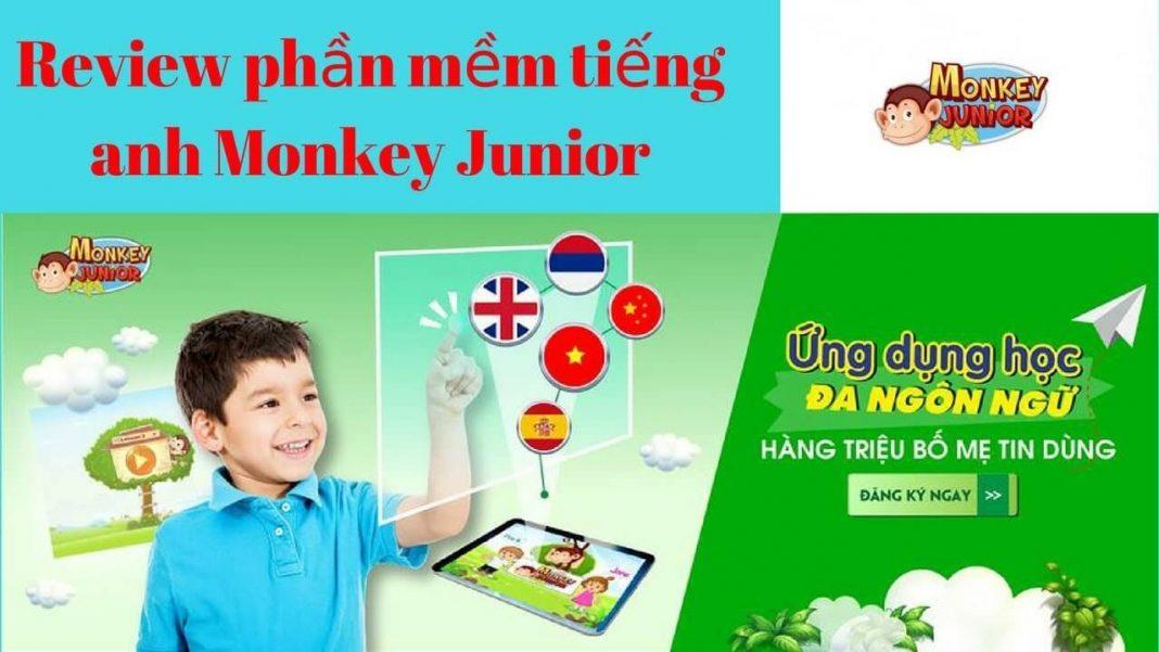 Review Phần Mềm Monkey Junior Học Tiếng Anh Cho Bé