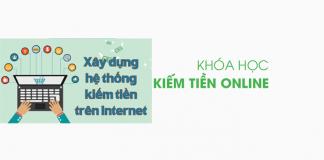 khóa học cách kiếm tiền online