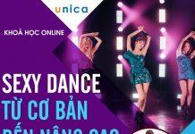 Bộ khóa học Sexy Dance VŨ ĐIỆU ĐƯỜNG CONG